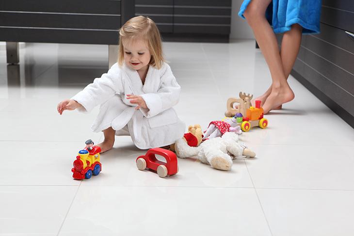 podlahové kúrenie do detskej izby