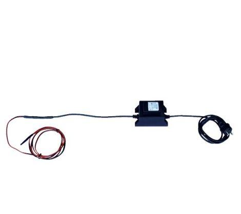 Horizont Vykurovací kábel k vodovodu 2,7m 28 W, 12V s transformátorom