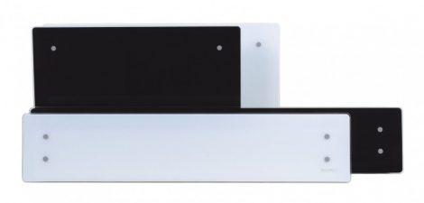 """ADAX Clea WiFi """"L"""" elektrický vykurovací panel – 800 W čierny"""
